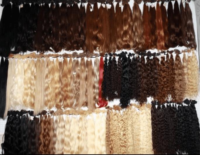 Die meiste Spezialisten haben eine riesen Auswahl an Echthaar - Foto: Hilal Haarverlängerungsstylistin Köln via Facebook