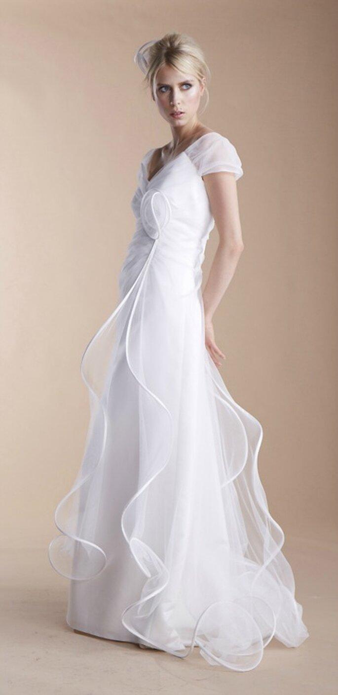 En quel tissu sera votre robe de mariée 2013 ? - Photo : Suzanne Ermann