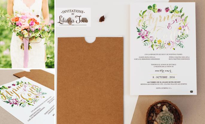 No olvides aadir estos 5 detalles al checklist de tu boda todo invitaciones liliana toca altavistaventures Image collections