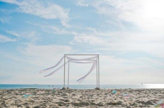 Boda de playa. Foto de Nadia Meli.