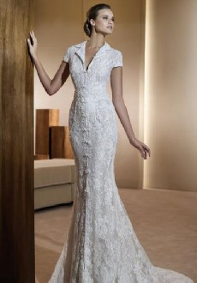 Colección de vestidos de novia en encaje 2011