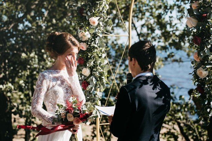 Как написать идеальную свадебную клятву? Рекомендации Zankyou