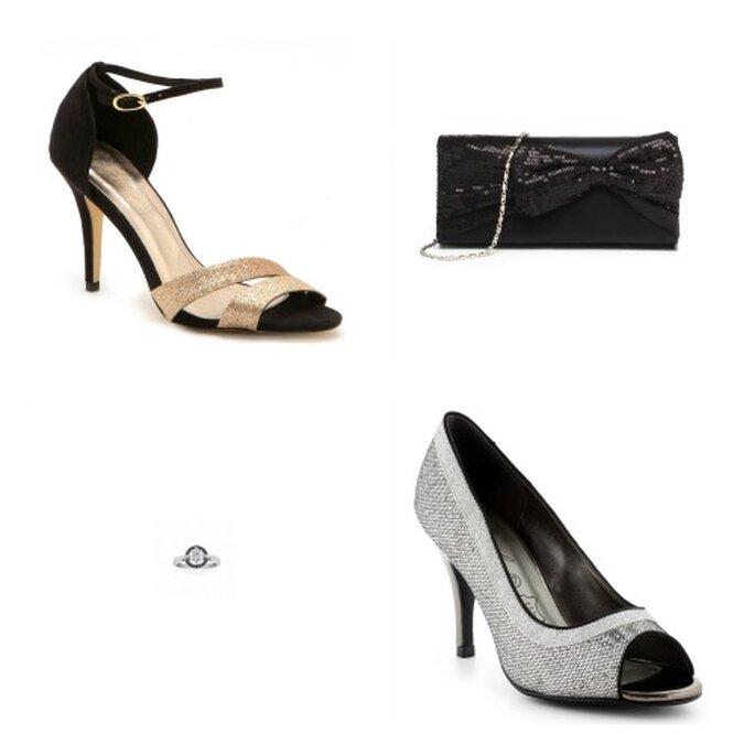 Un style moderne et flashy. Photos: La Halle aux Chaussures et Ysora