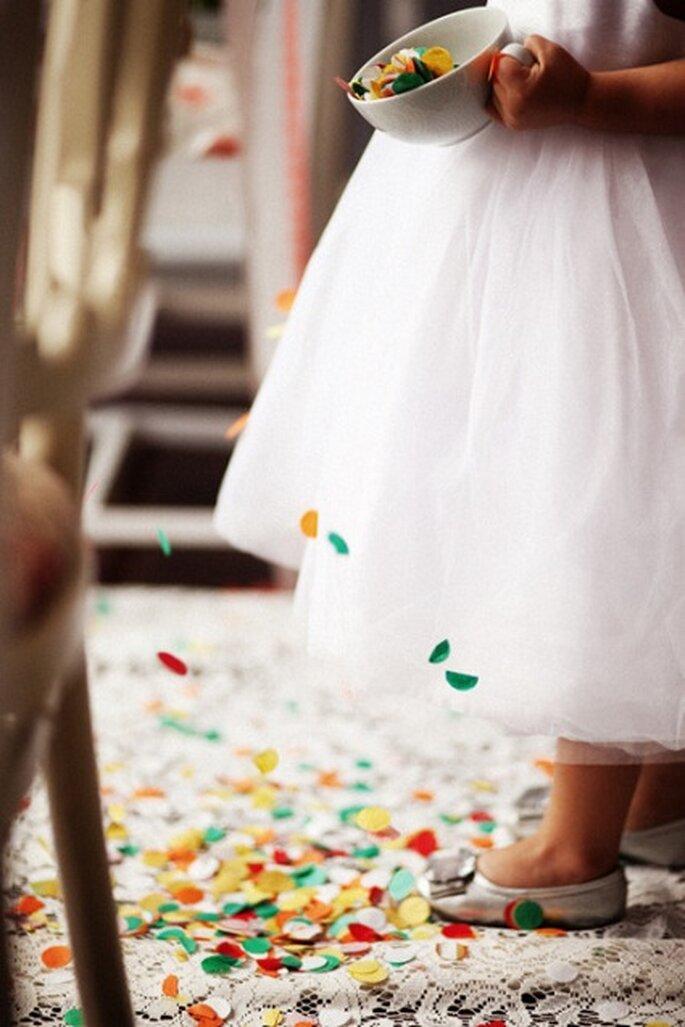 Confetti para boda. Foto de  Favim.com