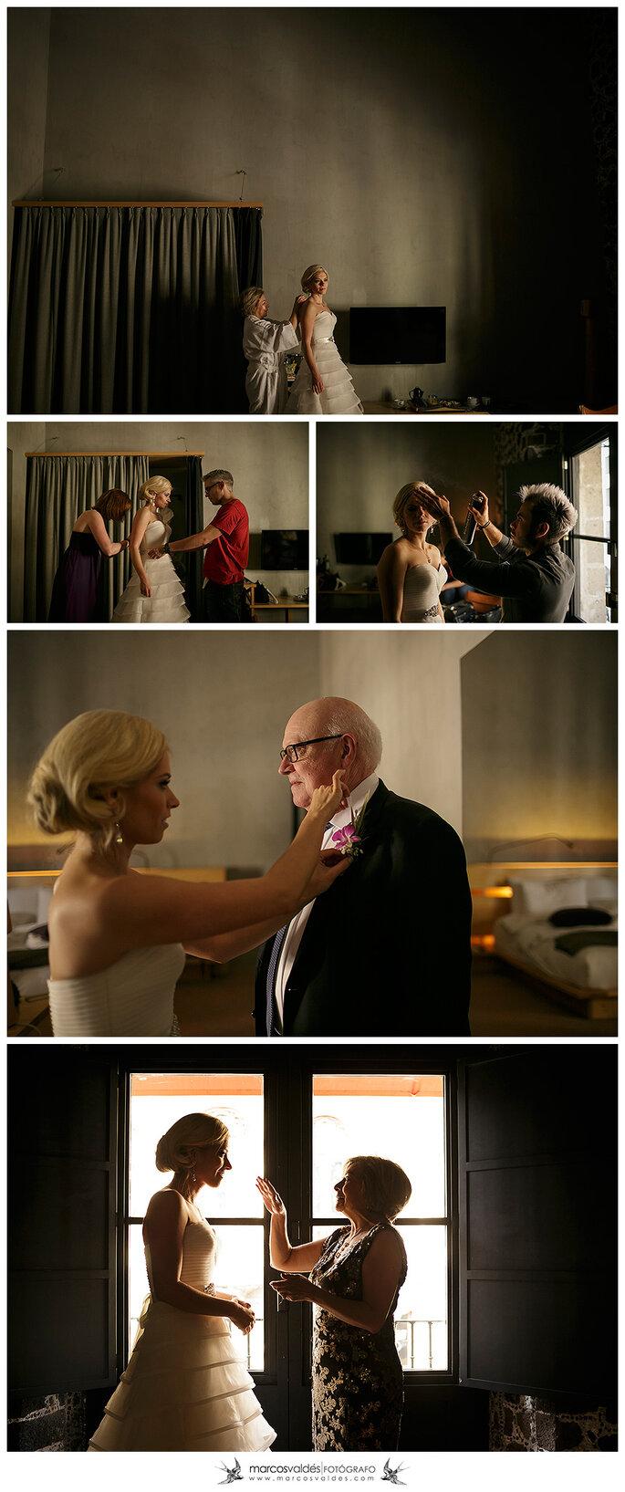 Real Wedding: La boda de Adelina y Joachim en Club de Banqueros - Marcos Valdés
