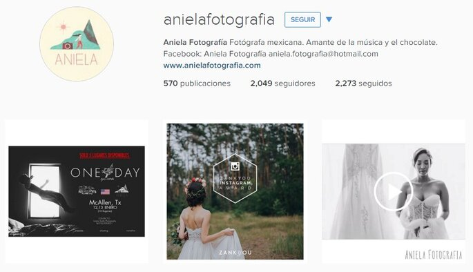Imagen vía Instagram Aniela Fotografía