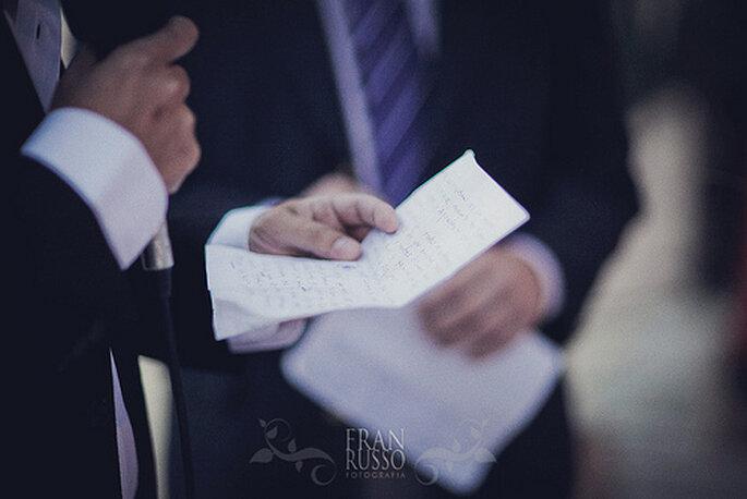 Cosas que debemos delegar el día de la boda. Foto de Fran Russo