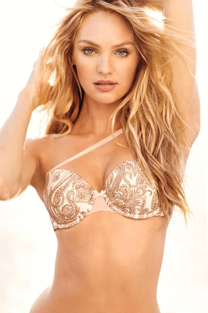 Elige estampados sexies en colores neutros - Foto Victoria's Secret