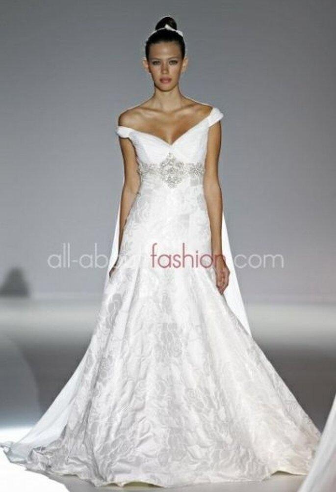 Brautkleid mit herzförmigem Ausschnitt - Franc Sarabia