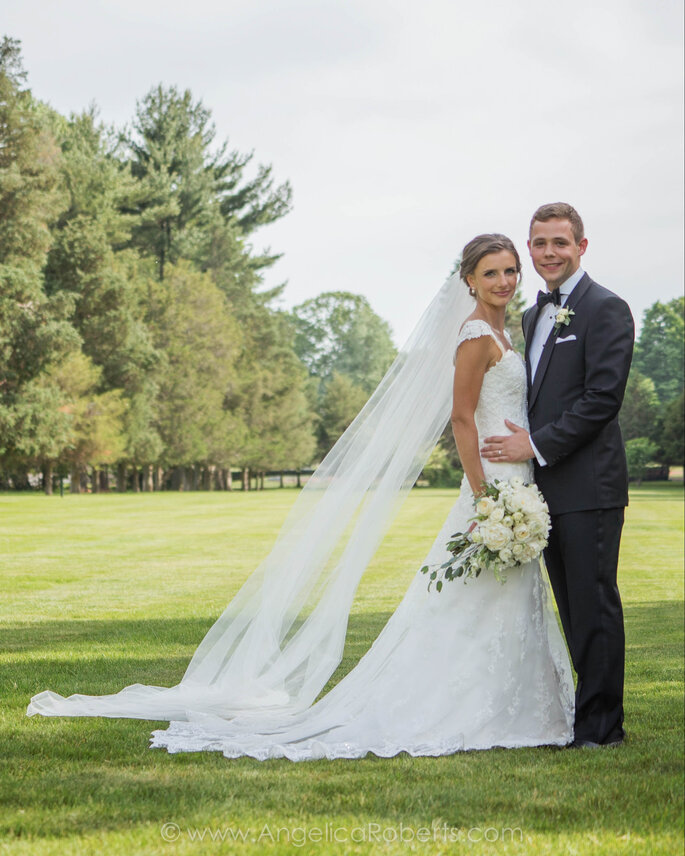 Lauren + Tom's Wedding, Image: Angelica Roberts Photography