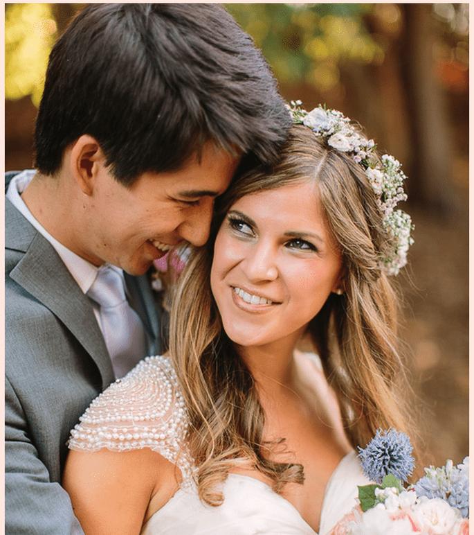 Una boda casual, rústica y encantadora en Oakland, California - Foto Danielle Capito