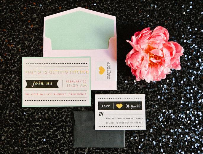 decoración de bodas en color menta - Brian Leahy Photography.