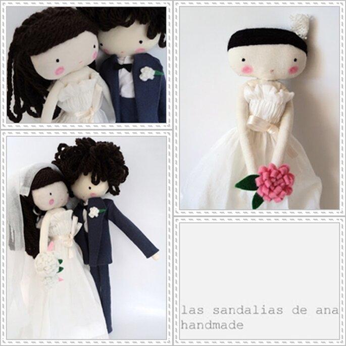 Los deliciosos muñequitos de Las sandalias de Ana. Foto: Las sandalias de Ana