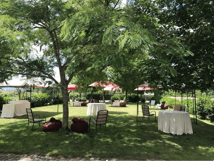 área externa Quinta da Cerca