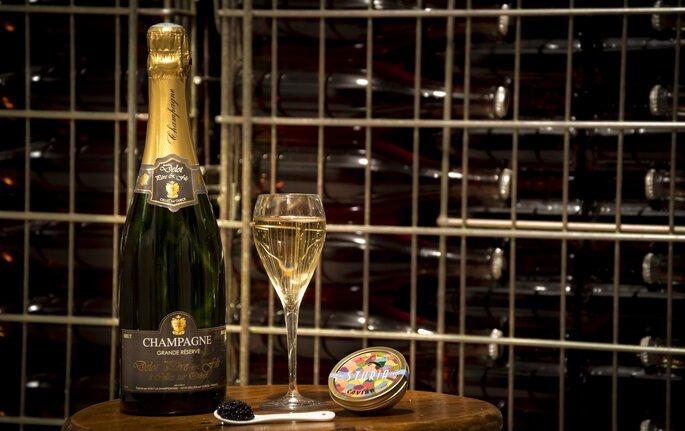 Quel champagne est fait pour votre mariage ? Crédit : Champagne Delot