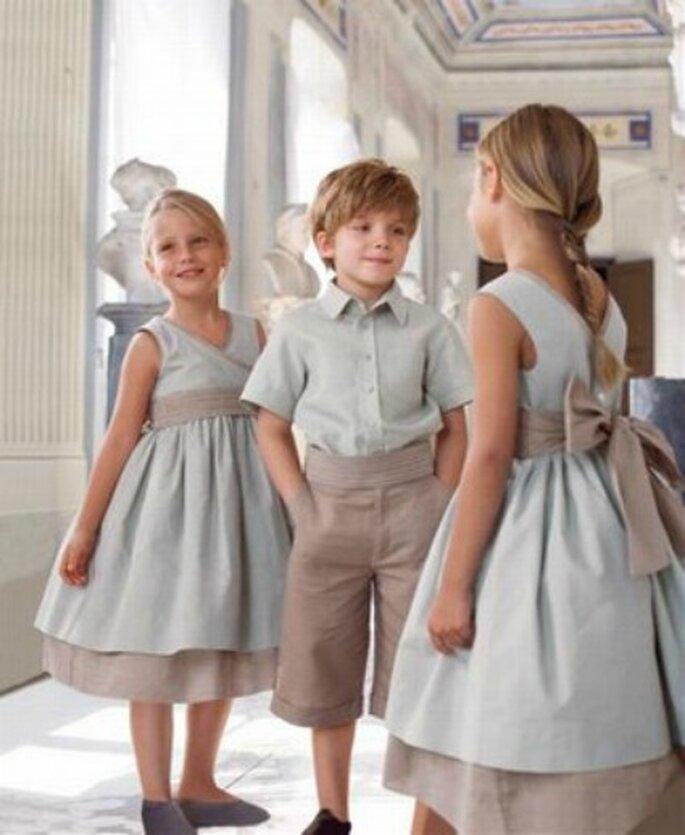Los niños tienen un papel imprescindible en als bodas. Foto: Cyrillus