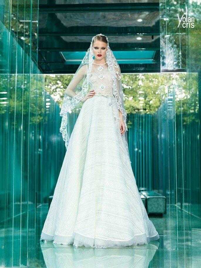 Vestidos de novia alta costura 2015 de YolanCris