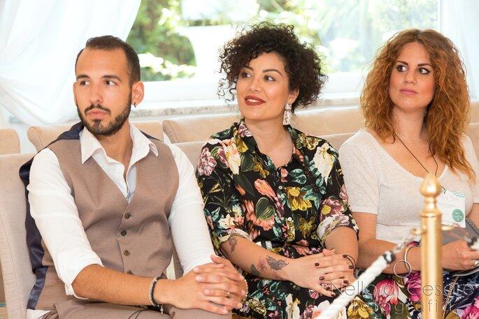 In prima fila, La Beyouty e Elisa Guidarelli - Foto: Nello di Cesare