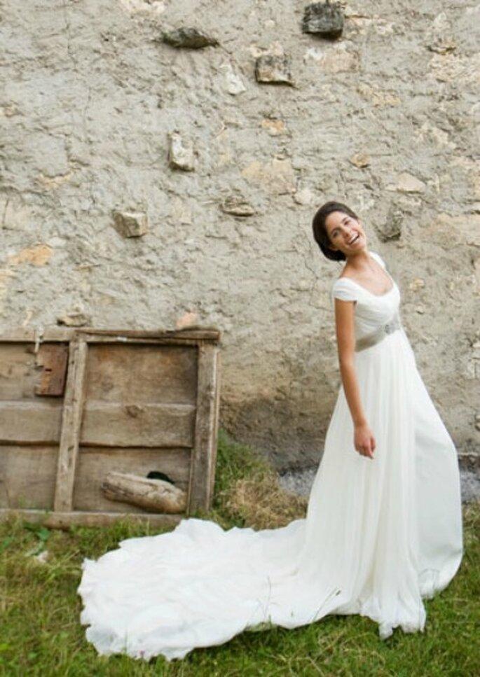 Vestido de novia de Teresa Palezuelo- Foto: Teresa Palezuelo