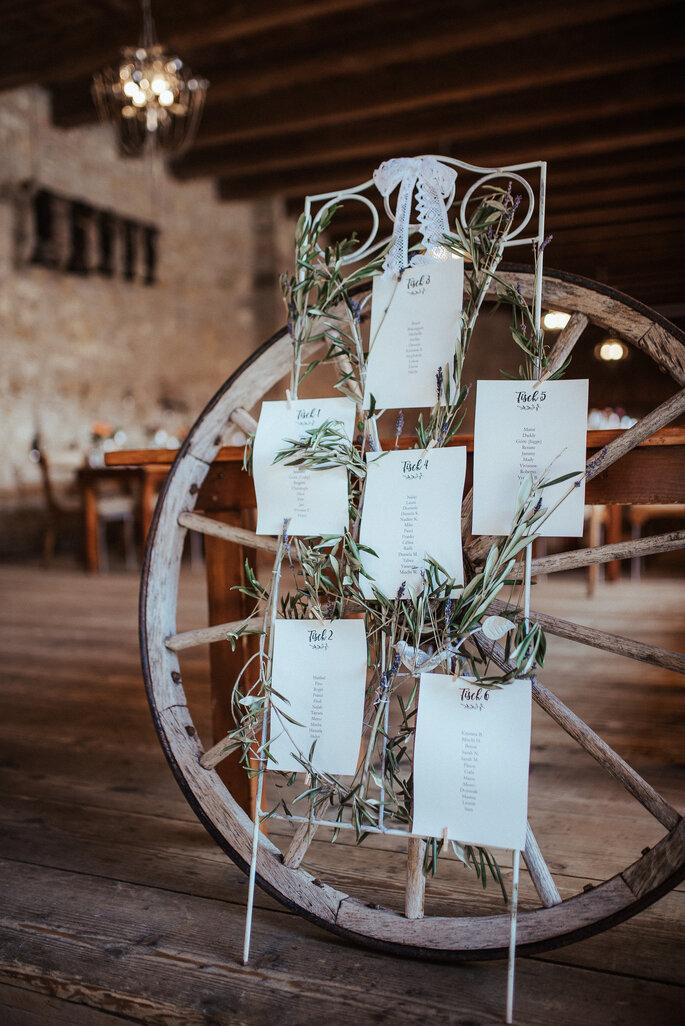 Die DIY-Tischordnung. Foto: Helen von Saurma Photography