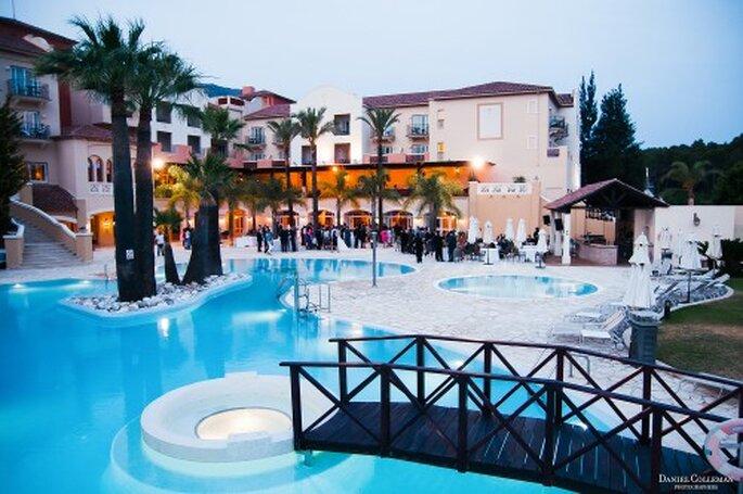 Magnifique piscine. Photos: Daniel Colleman
