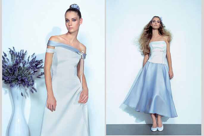 Vestiti da sposa colorati - Claraluna 2011