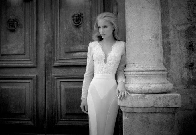 Vestidos de novia glamourosos y minimalistas para todo tipo de mujeres - Foto Yaki Ravid