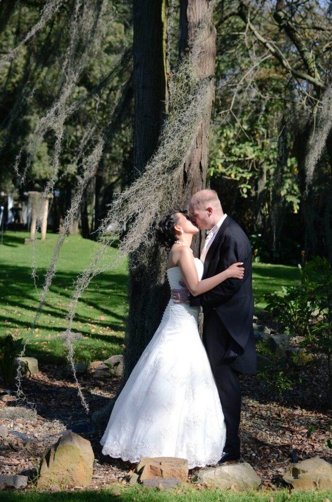 Marce y Corey: ¡cuando todo conjuga por la fuerza del amor!