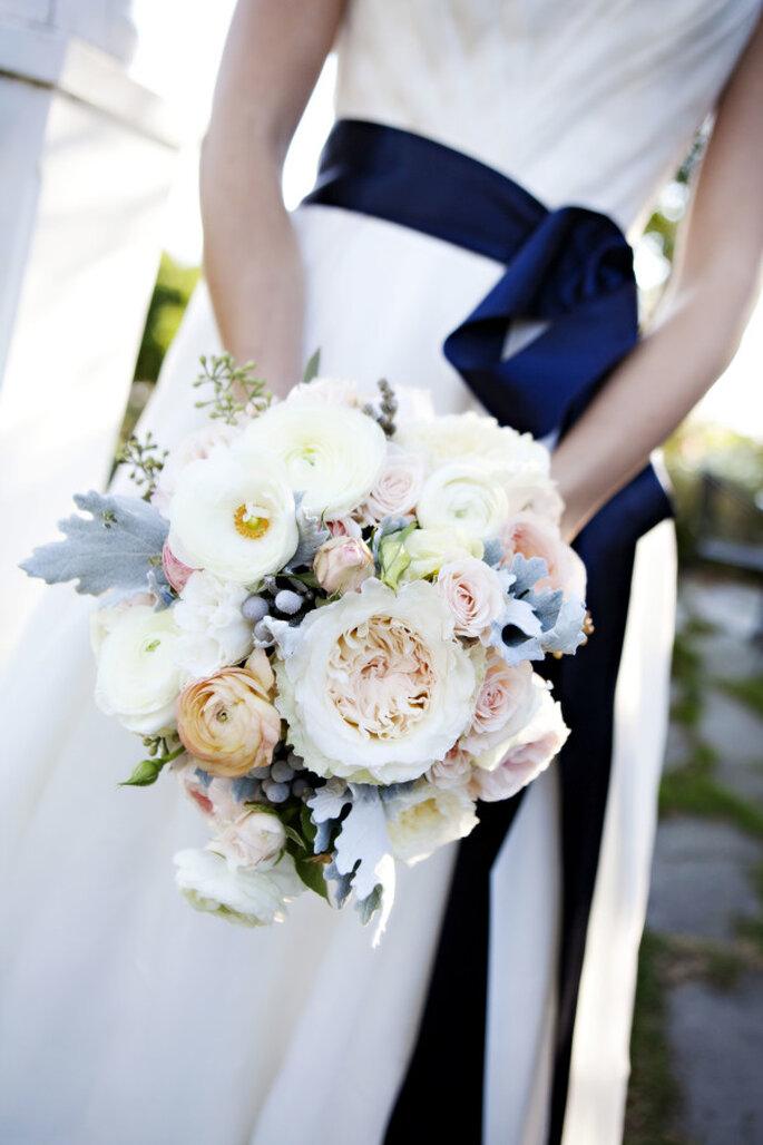 decoración azul marino - Adeline & Grace Photography