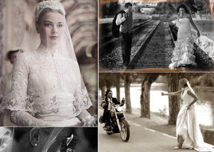 Un buen fotógrafo profesional logra buenos efectos cuando trabaja en blanco y negro o en color siena