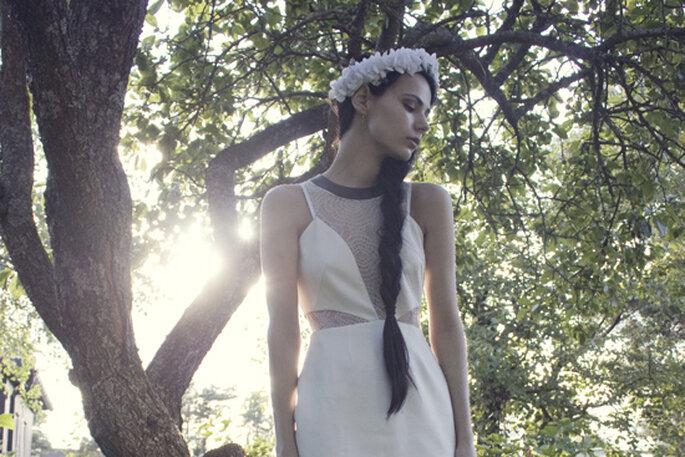 """© Barbro Andersen. """"Lucid Label, Sonea flowercrown, Tom Wood, Zara Shoes"""""""