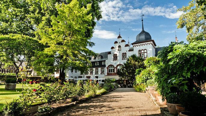Hochzeitslocation. Schloss.