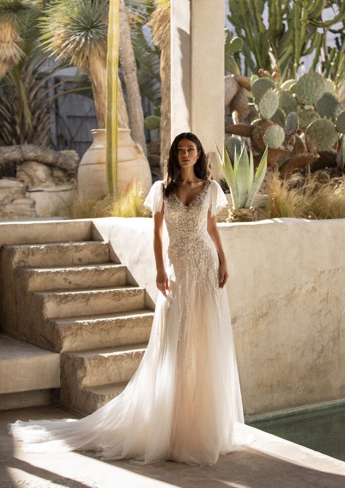 Vestidos de novia corte recto