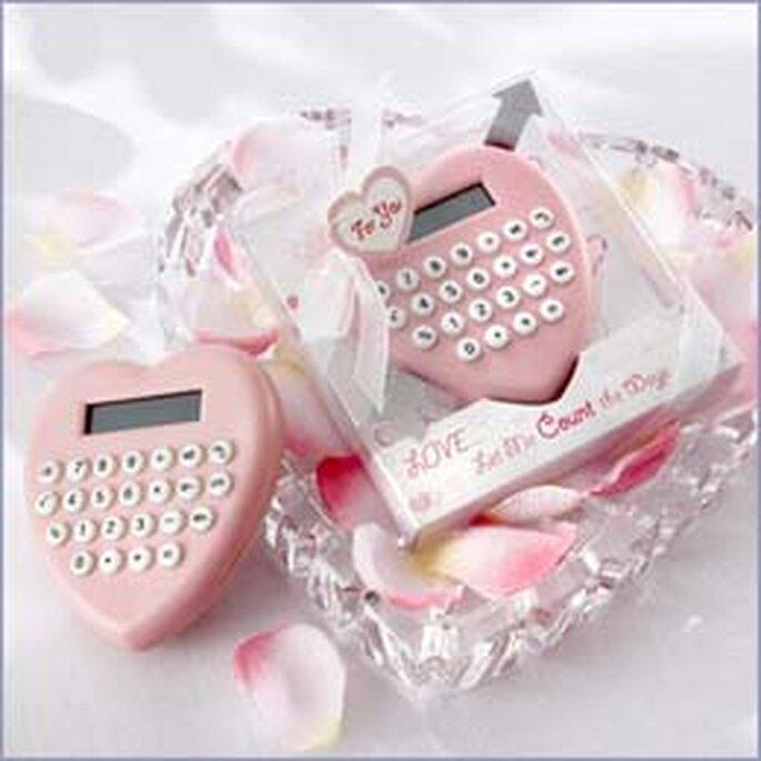 Una coqueta calculadora para acompañar en el escritorio