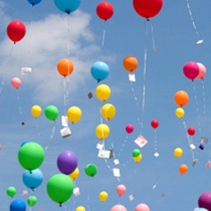 suelta de globos en bodas