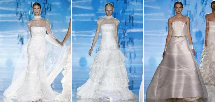 faf31a466 Descubre los vestidos de novia Pepe Botella 2010