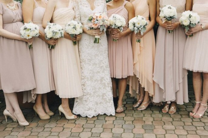 Los colores neutros pueden llevar diseños diferentes - Foto Alexandra Steele Photography