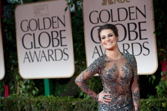 Inspiración en la alfombra roja de los Golden Globes 2012