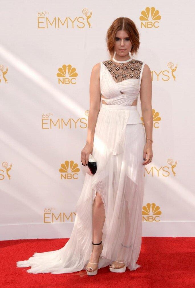 Kate Mara en la red carpet de los Emmys 2014 - Foto JMendel