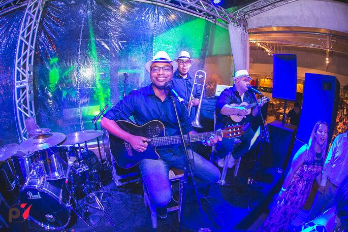 Banda Pocket Samba - Foto: Produtora 7 SONY | Foto e Filme