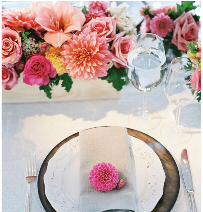 Los centros de mesa más elegantes para una boda en 2014 - Foto Steve Steinhardt