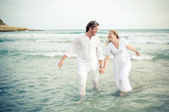 Des photos qui ressemblent aux mariés, tel est l'objectif - Photo : Sages comme des images