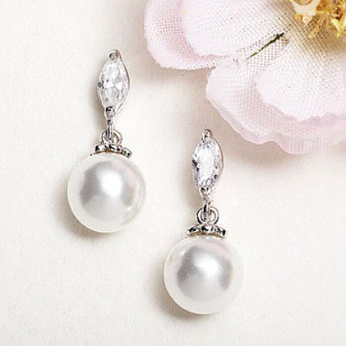 Perlas, oro blanco y diamantes: lujo para tu boda y por siempre