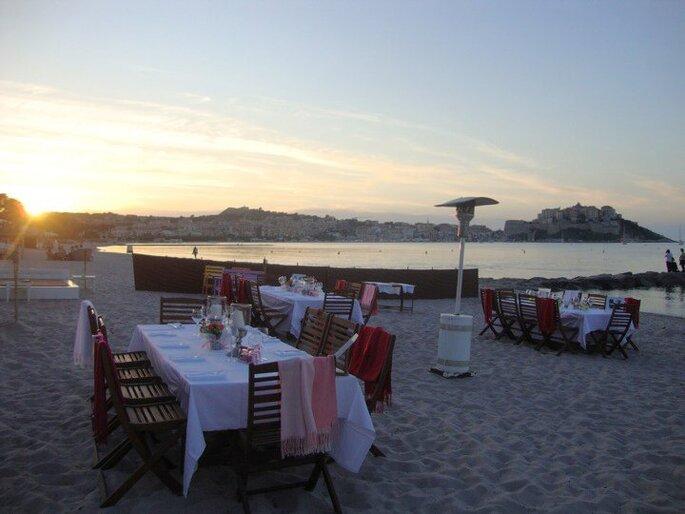 Mariage en Corse au bord de l'eau : que demander de plus ?