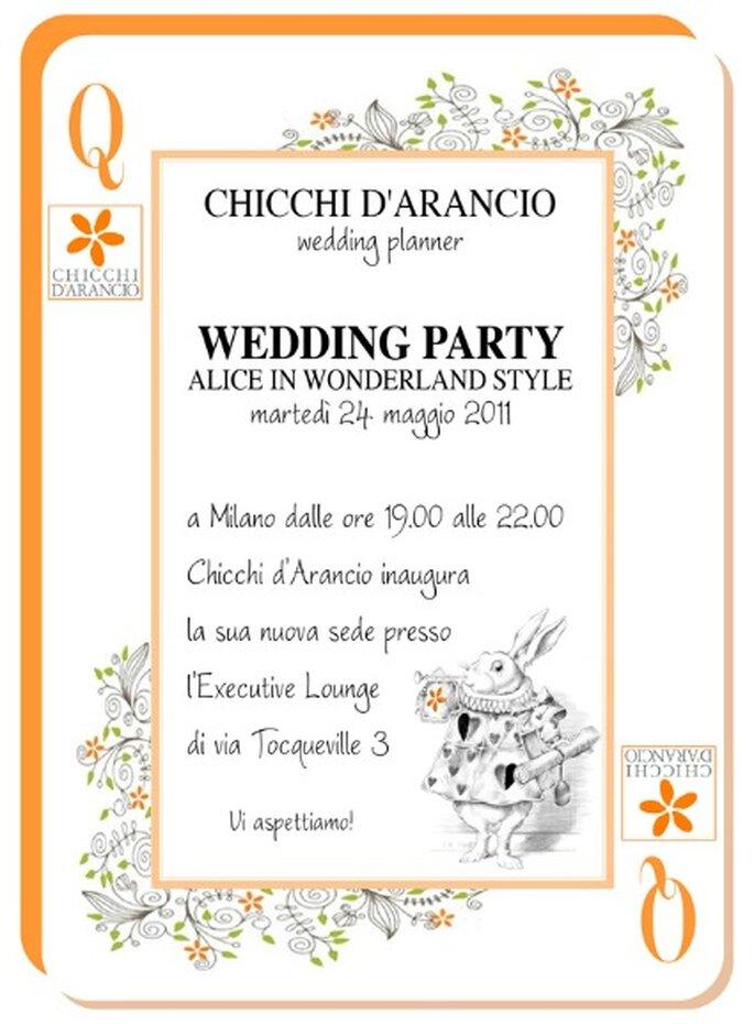 Invito Inaugurazione Chicchi d'Arancio