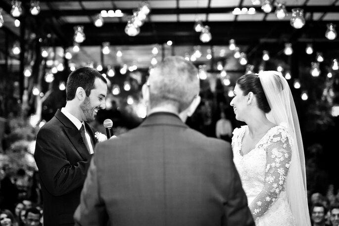 momento do votos em casamento