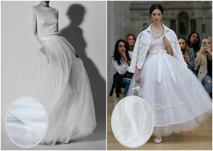 Robes de mousseline et tulle – Credits   Carolina Herrera y Oscar de la  Renta 0123a4b0d05