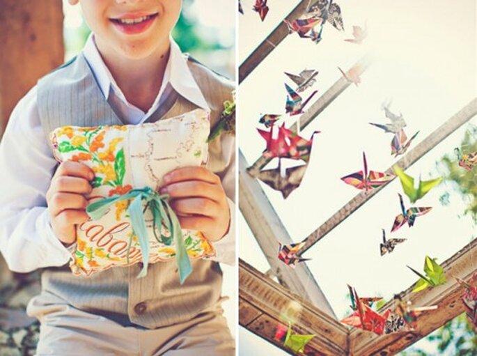 Die Verpackung ist ein wichtiger Teil des Geschenkes - Fotos: Green Wedding Shoes