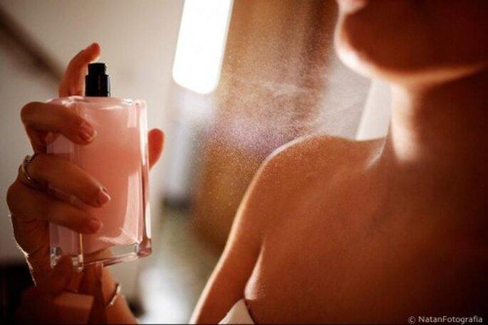 Perfumería para novias. Foto de Natán.