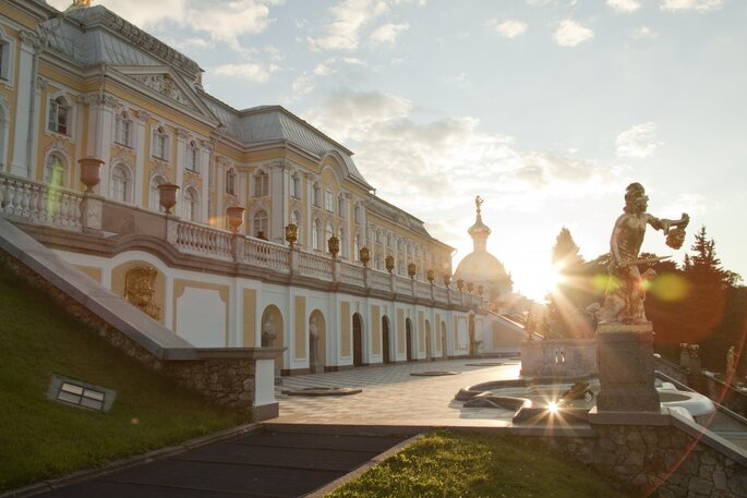 Петергоф. Credits: Государственный музе-заповедник Петергоф